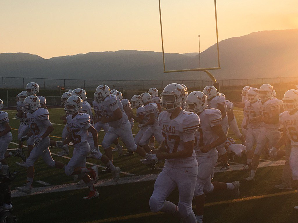 The mavericks prepare for their game against Lewis Palmer, on Friday September 1, before walking away with a 41-14 victory at the end of the night.