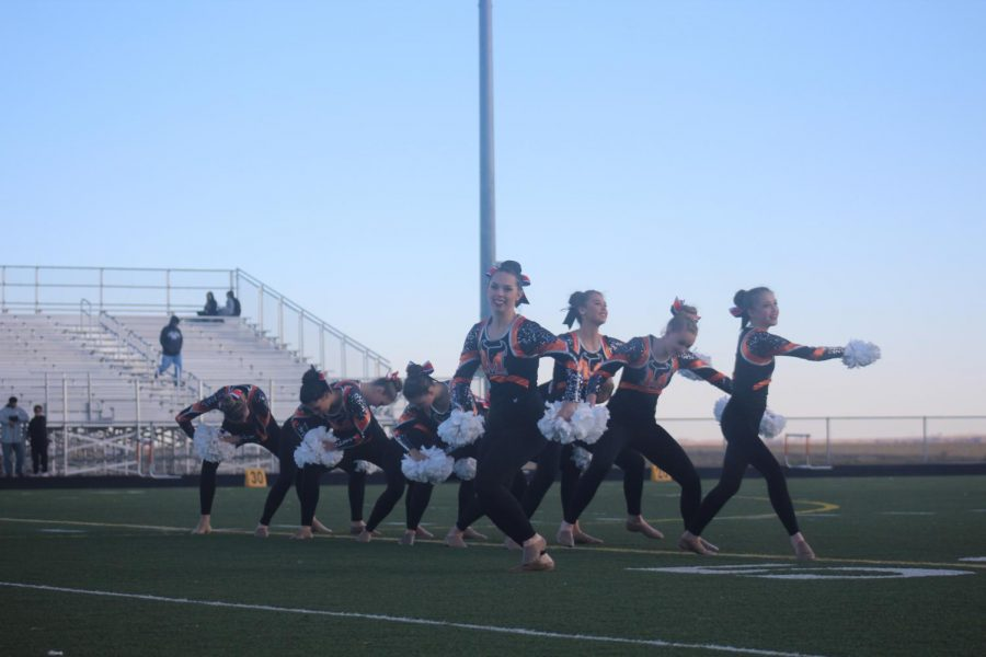 Dance performance at halftime