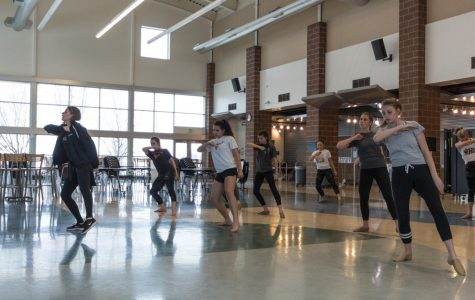Dance team competes against local Colorado schools