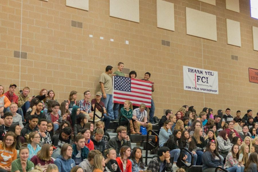 Students and Staff Honor our Veterans with an Annual Assembly