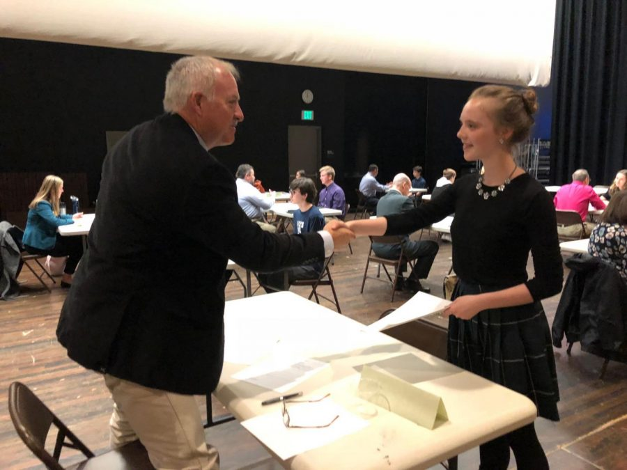 Mead Highs Annual Mock Interview Contest gives students valuable experience