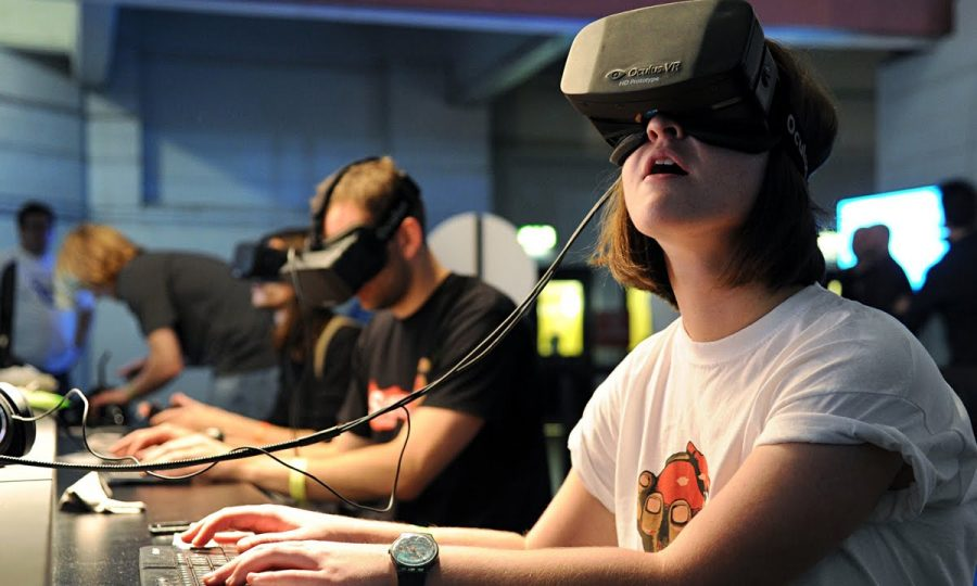The Past, Present, and Future of Virtual Reality (V.R.)