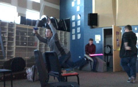 Lightsabers in the Band Room?