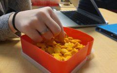 Goldfish galore and addictive saltine crackers