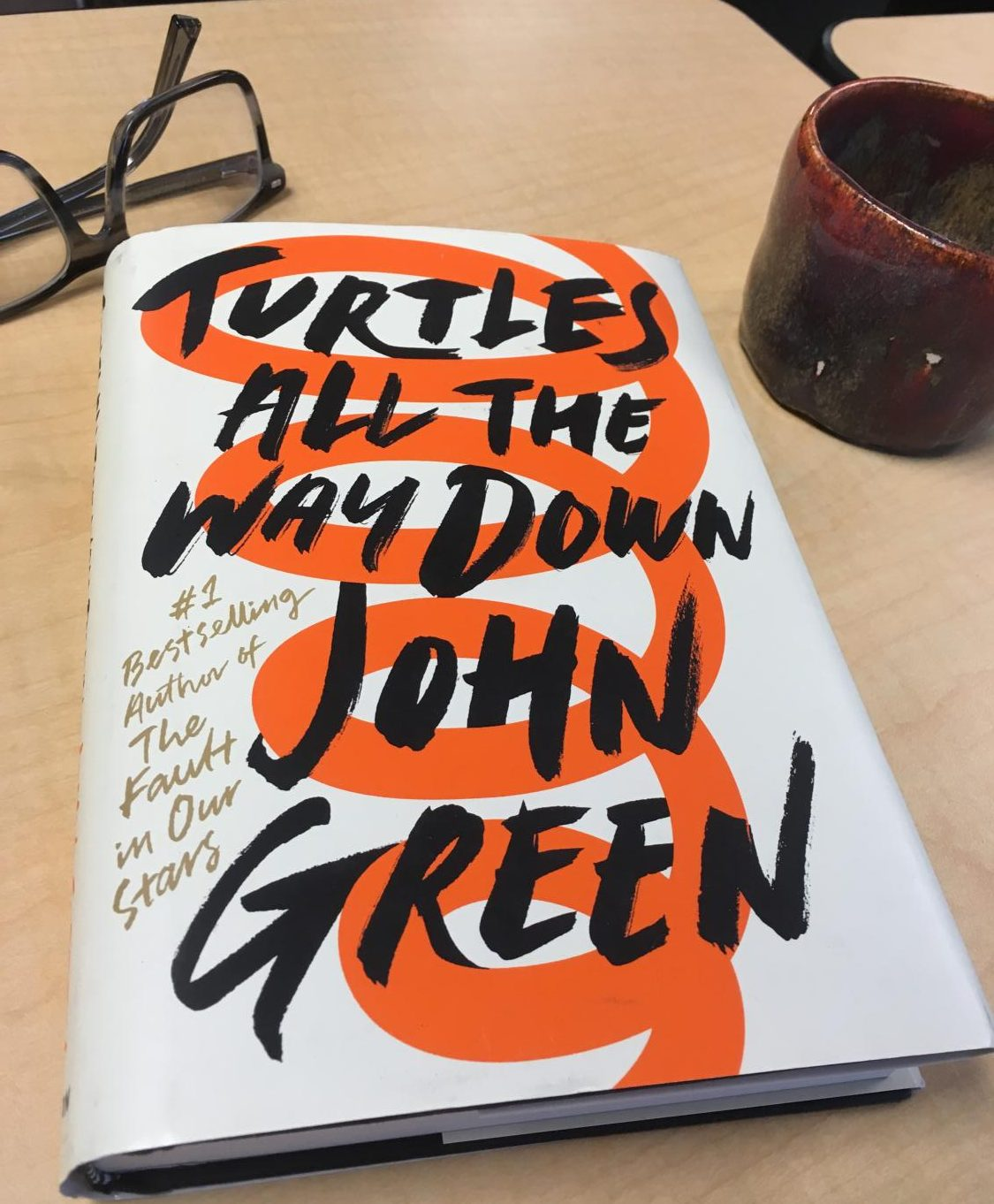 John Green returns to the YA scene after 5 years.