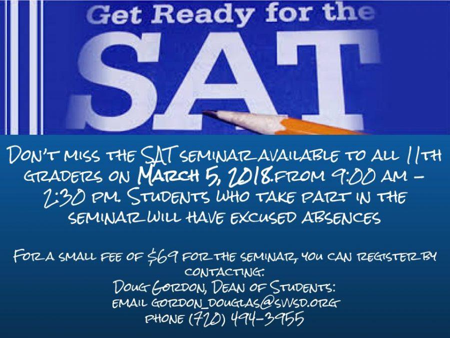 Juniors: Need SAT help?