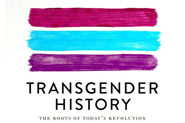 "The alternative cover page to Susan Stryker's book, ""Transgender History."""