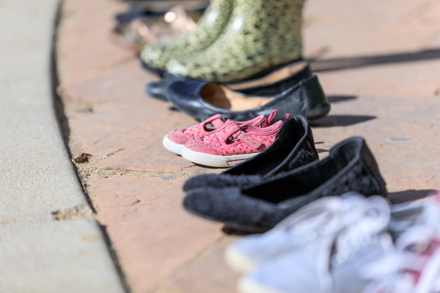 The+pairs+of+shoes+are+symbolic+of+the+7%2C000+shoes+in+Washington+DC+representing+the+7%2C000+children+killed+since+Sandy+Hook.