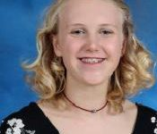 Freshman Britta Stearns places 9th in state in Speech and Debate competition