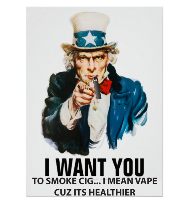 Vape+advertising+and+teenagers