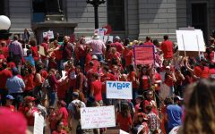 Colorado teachers unite at the Capitol to protest school funding