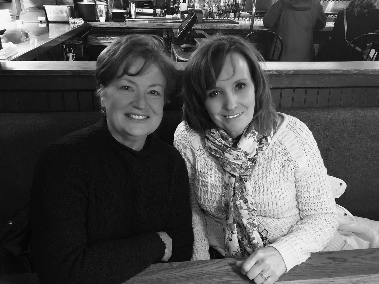Lisa Shields and Nancy Reorda, the moms of two of our editors, pose on vacation.