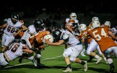 Mead Varsity Football beats Lewis-Palmer Friday night