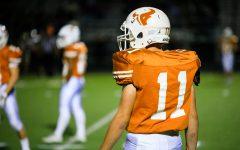 Junior Kyle Sewczak is running for the team instead of himself