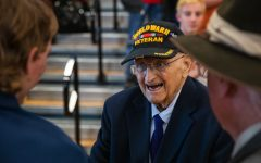 """We get to know history by getting to know those who lived through history"": commemorating Mead High's Annual Veterans Day Assembly"