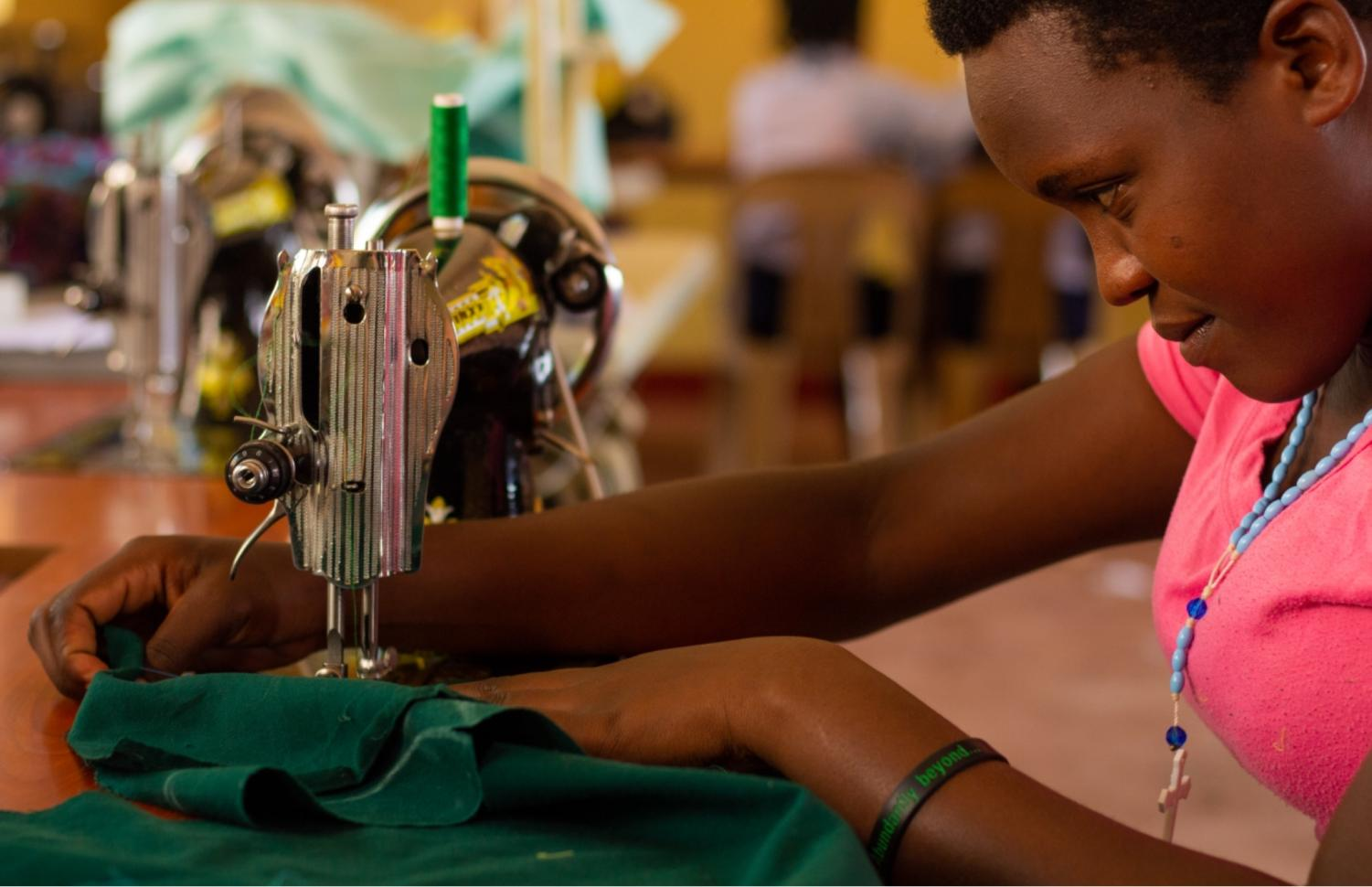 The+sewing+program+helps+students+learn+to+make+their+own+clothes%2C+and+pay+for+tuition+with+clothes+they+sell