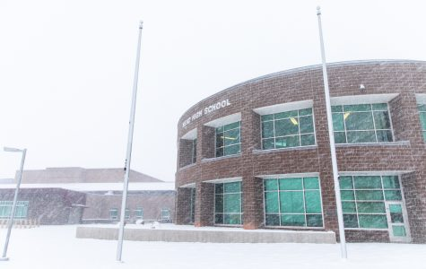 Students are expected to go to school amid white-out conditions