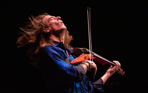 Violinist Mark Wood rocks out with Mead Orchestra