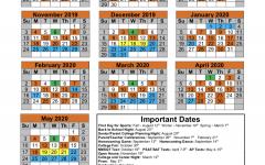 MHS Block Schedule 2019-2020