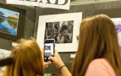 A night at Saint Vrain's student art show