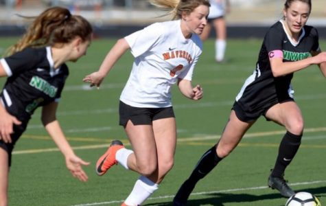 The Girl's Soccer team leads a strong season