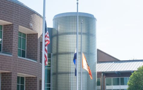 Flags at Mead High fly at half mast to honor recent school shooting victims