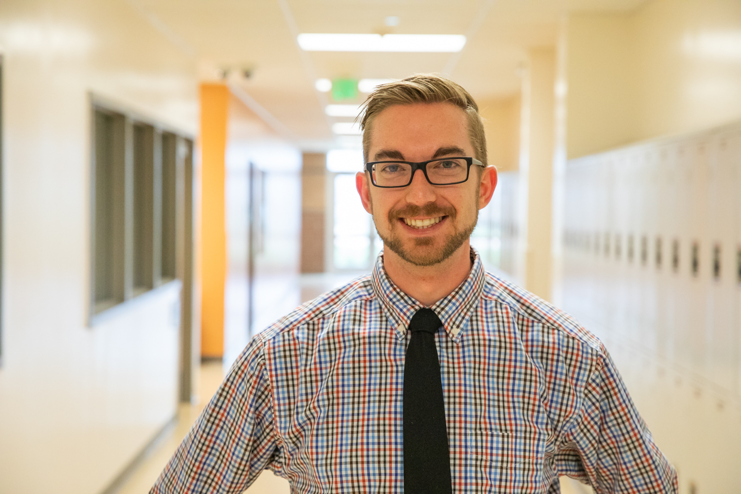 Mr. Andrew Steitz has been teaching at Mead High School for two years.