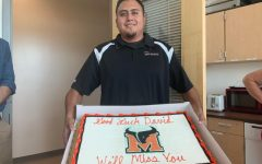 Mead says goodbye to its campus supervisor, David Morales