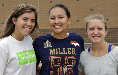 From right to left, Izzy Cox, Celeste Ortega, and Quin Overlin.