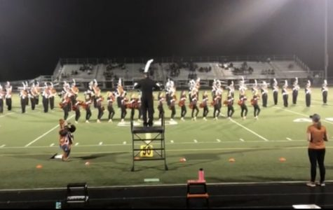 Marching band and Dance ignite homecoming game in new team ensemble