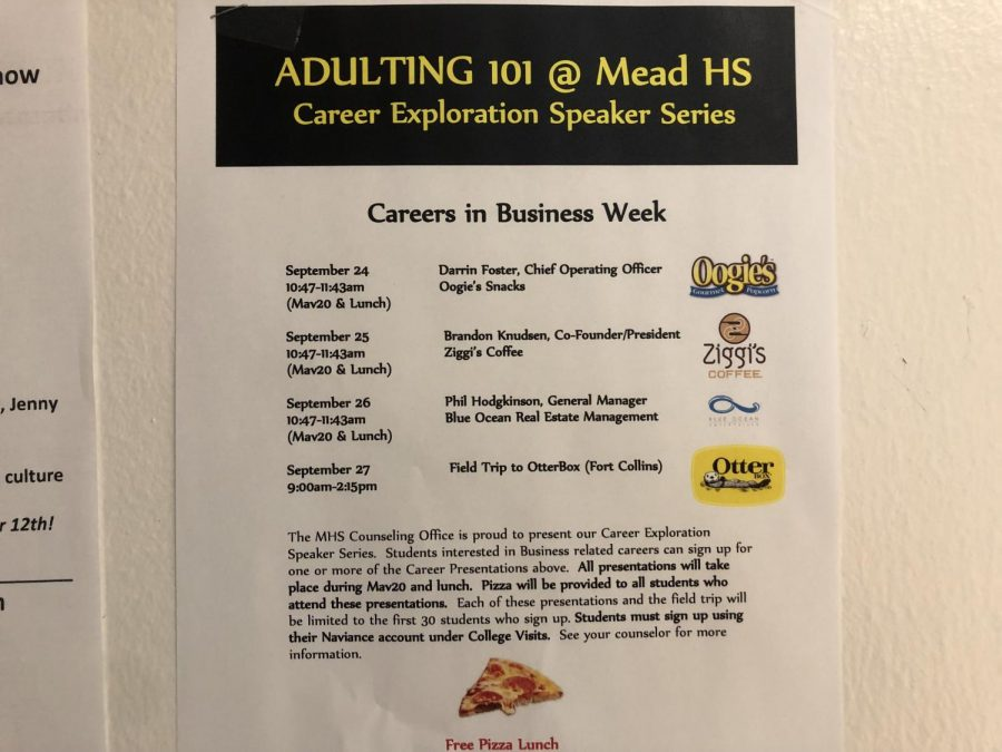 Adulting 101 courses allow students to learn more about possible career paths.