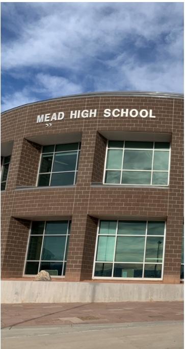 Outside of Mead High School