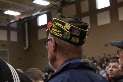 "Mead ""holds the line"" and honors its Veterans in the annual Veterans' Day Assembly"