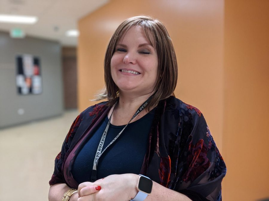 Government teacher Erin Warren