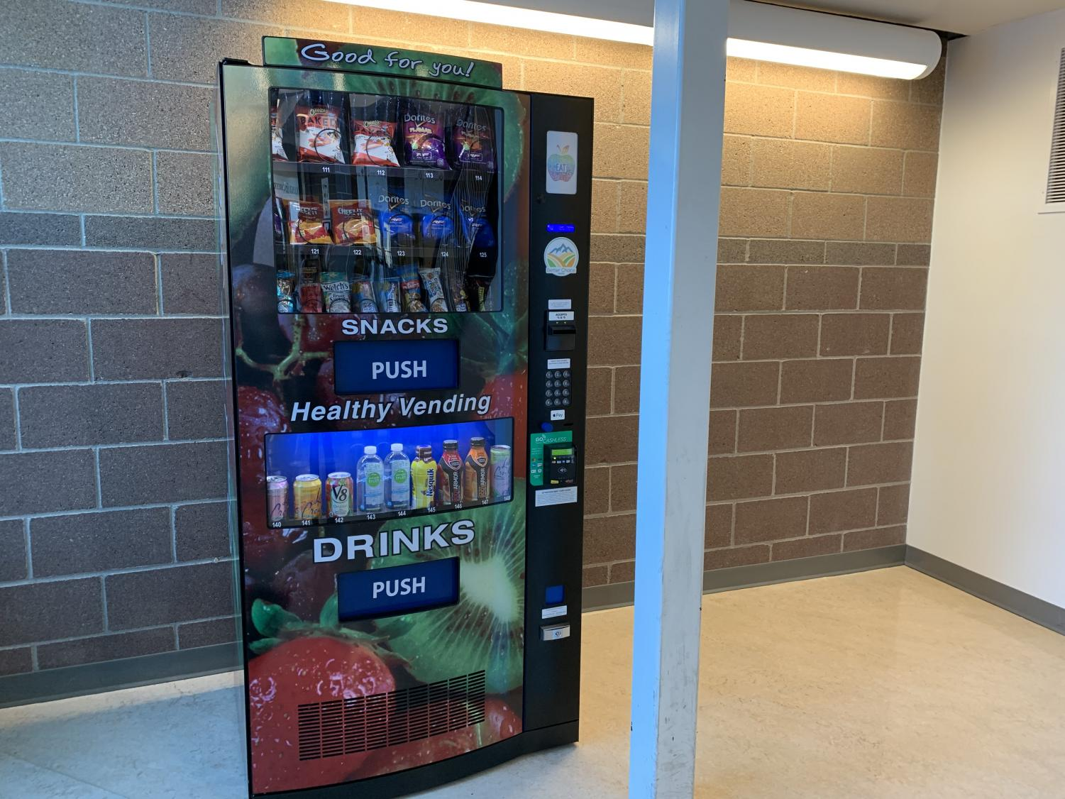 The vending machine at Mead