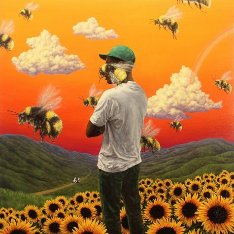 Tyler's favorite album, Flowerboy by Tyler, the Creator