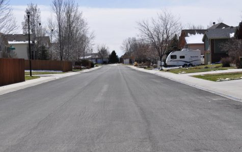 A picture of an empty street.