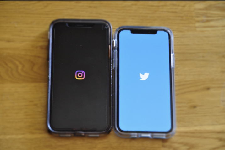 A picture of social media platforms.