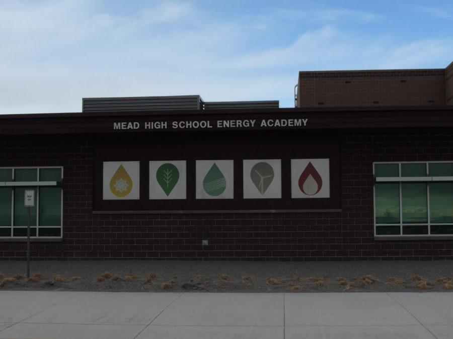 the mead high school energy academy sign