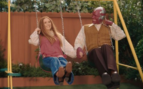 Wanda and Vision are shown in the 70s swinging together in episode three.