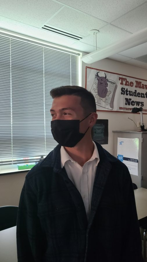My favorite teacher is Ms. Warren because she is real... She doesnt put on that teacher facade [and] is not afraid to be herself and tell us about her life. It means everything to me and makes me more engaged in class...Shes a real person instead of just a robot. - Tyler Rotunno (22)