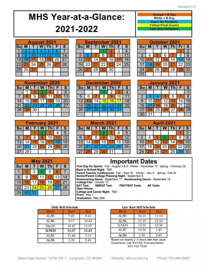 MHS Block Schedule