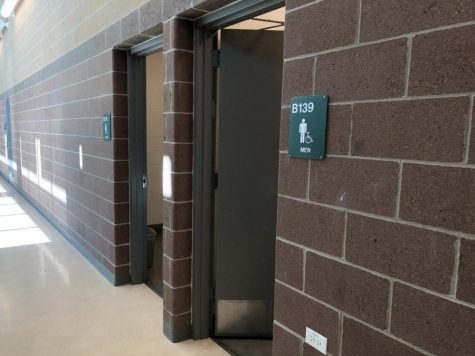 Bathrooms that continue to show signs of vandalism may be shut down.